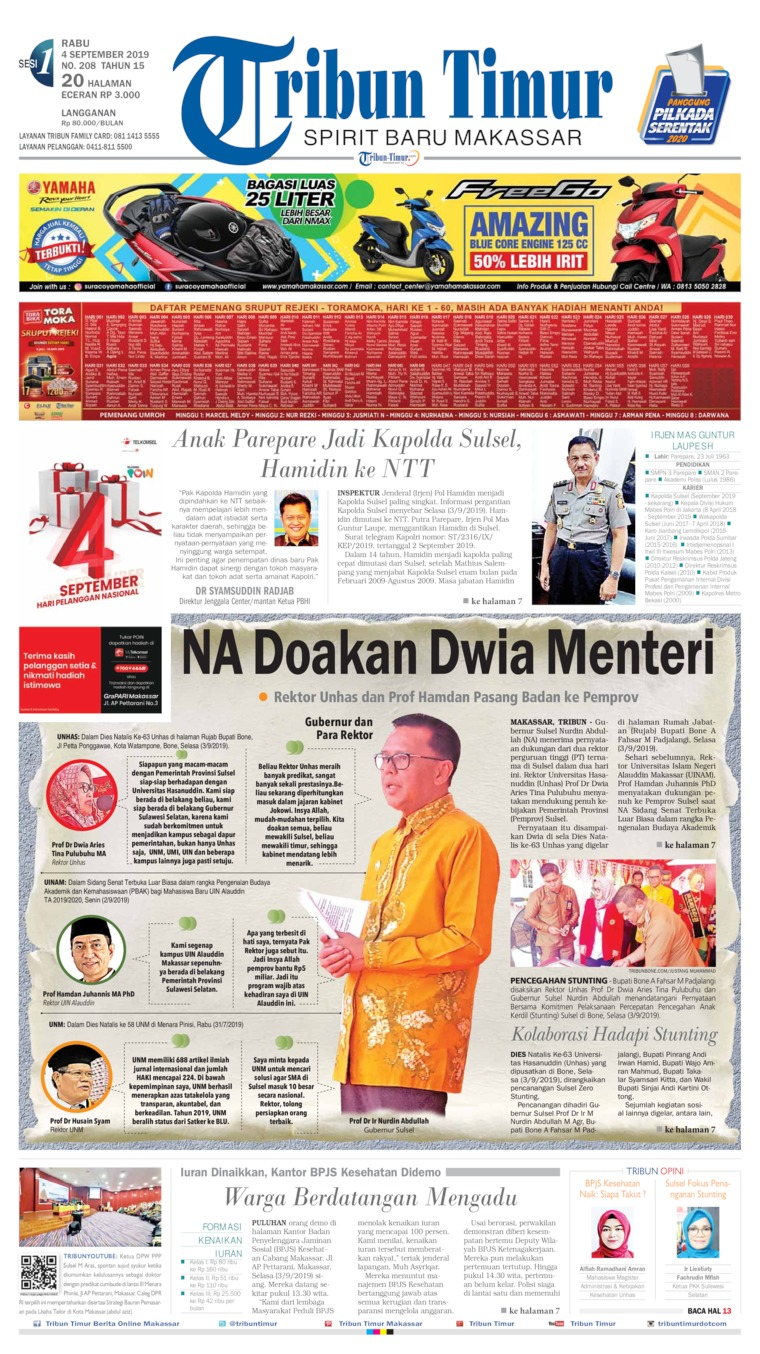Koran Digital Tribun Timur 04 September 2019