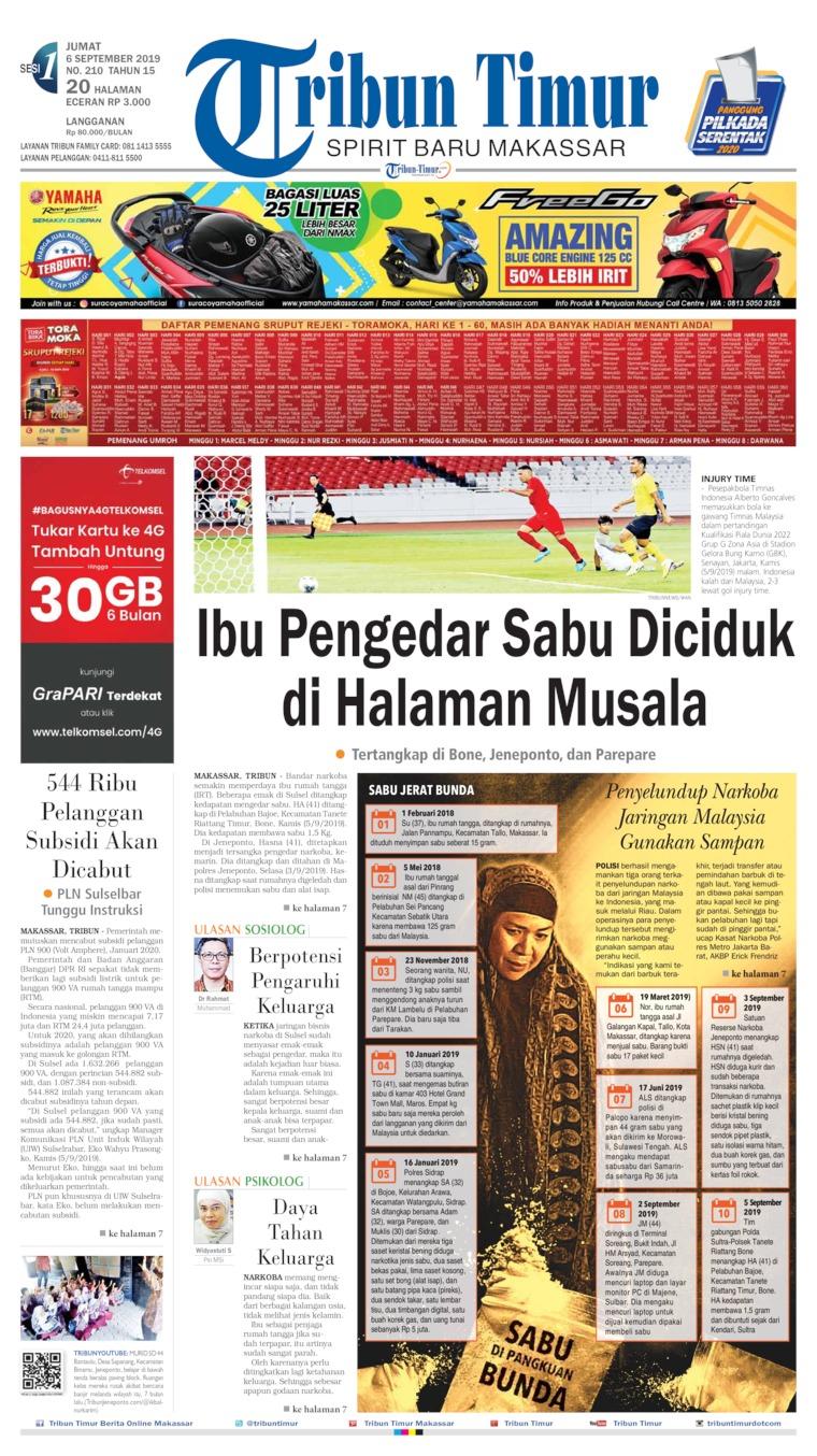 Koran Digital Tribun Timur 06 September 2019
