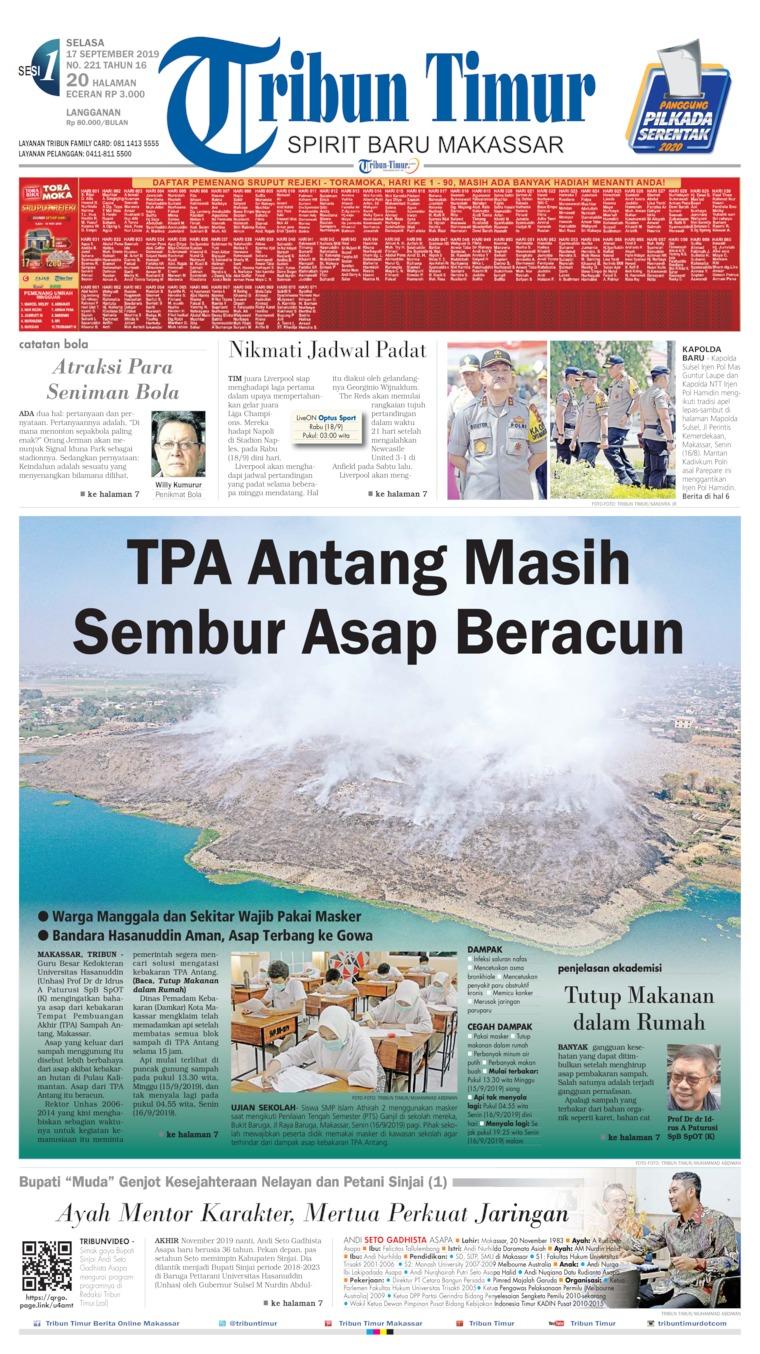 Koran Digital Tribun Timur 17 September 2019