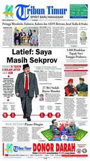 Cover Tribun Timur 21 Februari 2018