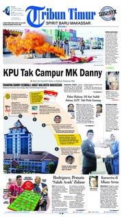Cover Tribun Timur 25 April 2018