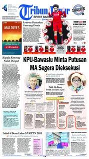Cover Tribun Timur 26 April 2018