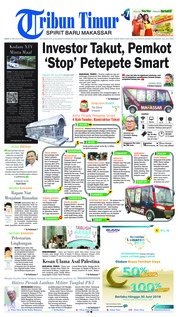 Cover Tribun Timur 21 Mei 2018