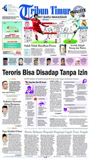 Cover Tribun Timur 26 Mei 2018