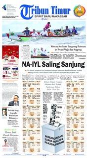 Cover Tribun Timur 10 Juli 2018