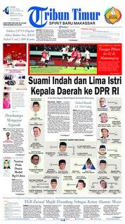 Cover Tribun Timur 12 Juli 2018