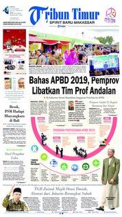 Cover Tribun Timur 14 Juli 2018