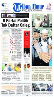 Cover Tribun Timur 21 Juli 2018