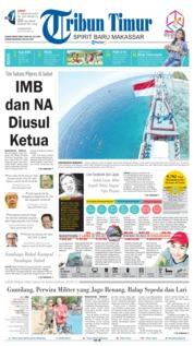 Cover Tribun Timur 17 Agustus 2018