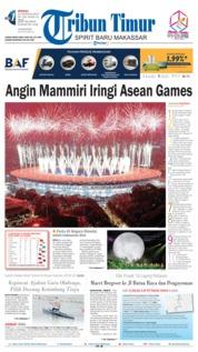 Cover Tribun Timur 19 Agustus 2018