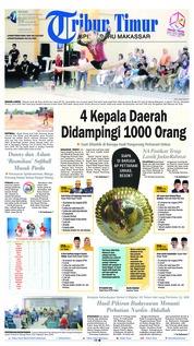 Cover Tribun Timur 25 September 2018