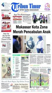 Cover Tribun Timur 18 Oktober 2018