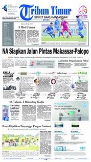 Cover Tribun Timur 19 Oktober 2018