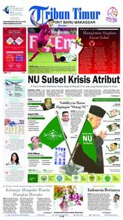 Cover Tribun Timur 22 Oktober 2018