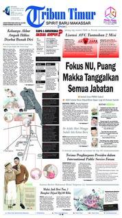 Cover Tribun Timur 23 Oktober 2018