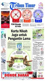 Cover Tribun Timur 14 November 2018