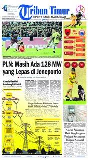 Cover Tribun Timur 17 November 2018