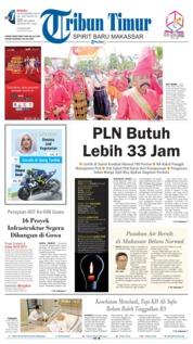 Cover Tribun Timur 18 November 2018