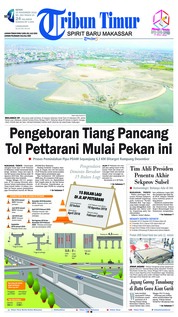 Cover Tribun Timur 19 November 2018