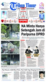 Cover Tribun Timur 21 November 2018
