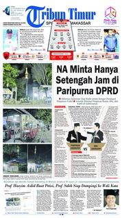 Tribun Timur Cover 21 November 2018