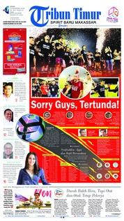 Cover Tribun Timur 10 Desember 2018