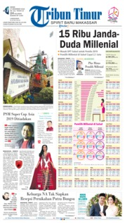 Cover Tribun Timur 17 Desember 2018