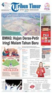 Cover Tribun Timur 30 Desember 2018