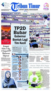 Cover Tribun Timur 04 Januari 2019