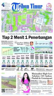 Cover Tribun Timur 05 Januari 2019