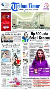 Cover Tribun Timur 07 Januari 2019
