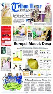 Cover Tribun Timur 08 Januari 2019