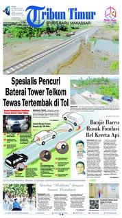 Cover Tribun Timur 09 Januari 2019