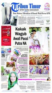Cover Tribun Timur 10 Januari 2019
