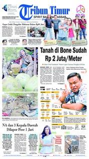 Cover Tribun Timur 11 Januari 2019
