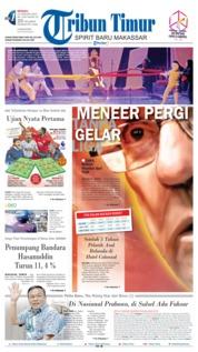 Cover Tribun Timur 13 Januari 2019