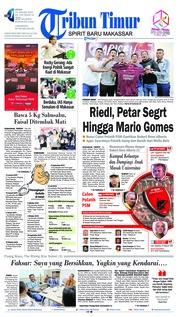 Cover Tribun Timur 14 Januari 2019