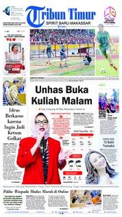 Cover Tribun Timur 16 Januari 2019
