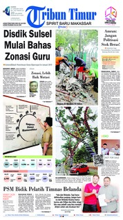 Cover Tribun Timur 17 Januari 2019