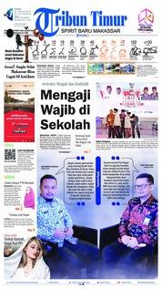 Cover Tribun Timur 18 Januari 2019