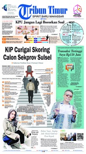 Cover Tribun Timur 19 Januari 2019