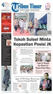 Cover Tribun Timur 20 Januari 2019