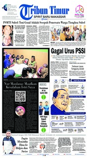 Cover Tribun Timur 21 Januari 2019