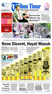 Cover Tribun Timur 22 Januari 2019