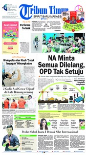 Cover Tribun Timur 12 Februari 2019