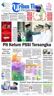 Tribun Timur Cover 16 February 2019