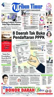 Cover Tribun Timur 18 Februari 2019