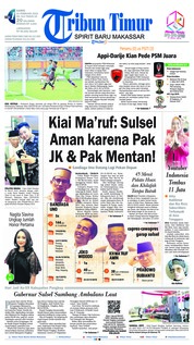 Tribun Timur Cover 21 February 2019