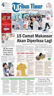 Tribun Timur Cover 24 February 2019