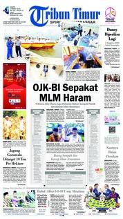 Cover Tribun Timur 02 Maret 2019
